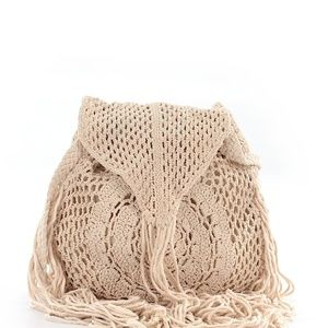 Mossimo Crochet Crossbody Bag